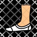 Invisible Sock Color Icon