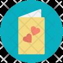 Invitation Greetings Card Icon