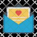 Invitation Wedding Envelope Icon