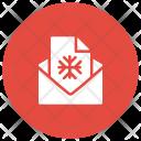 Invitation Christmas Email Icon