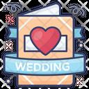 Wedding Invitation Wedding Card Love Communication Icon