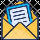 Invitation Mail Card Icon