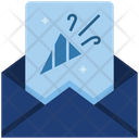 Invitation Card Decoration Icon