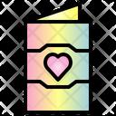 Invitation Valentine Heart Icon
