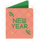 Invitation New Year Party Icon