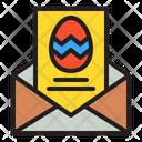 Invitation Card Celebration Icon