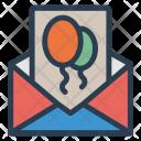 Invitation Open Message Icon