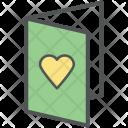 Invitation Card Valentine Icon