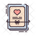 Marriage Certificate Invitation Icon