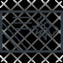 Invitation Card Greeting Icon
