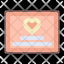 Invitation Card Decoration Icon