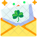 St Patricks Day Cultures Postcard Icon