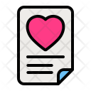 Card File Vow Icon