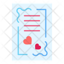 Card Invitation Heart Icon