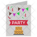 Invitation Card Birthday Card Party Card Icon