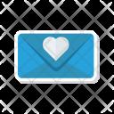 Invitation Card Love Icon