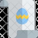 Invitation Easter Icon