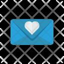 Invitation Card Letter Icon