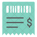 Invoice Receipt Business Icon