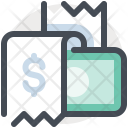 Invoice Cash Payment Icon