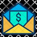 Mail Bill Mail Invoice Bill Receipt Icon