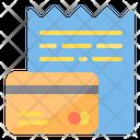 Bills Invoice Receipt Icon