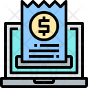 Invoice Online Bill Online Invoice Icon
