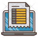 Invoice Investments Business Icon
