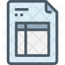 Invoice Paper Bill Icon