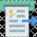 Invoice Cash Invoice Bill Icon