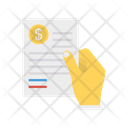Invoice Payment Document Icon