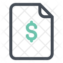 Bill Dollar Payment Icon