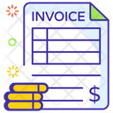 Invoice Bill Payment Shopping Bill Icon