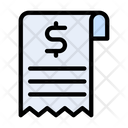 Invoice Receipt Bill Icon