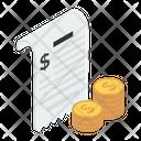 Bill Invoice Voucher Icon