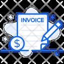 Invoice Receipt Voucher Icon