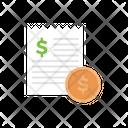 Invoice Bill Receipt Icon