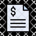 Invoice Bill Tax Icon