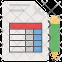 Invoice Bill Cash Slip Icon