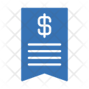 Invoice Tax Banking Icon