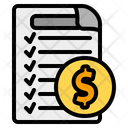 Invoice Invoices Payment Icon