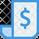 Invoice Document Receipt Icon