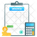 Invoice Business Paper Voucher Icon