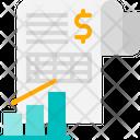 Invoice Receipt Chart Icon