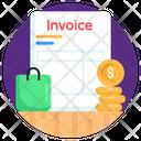 Receipt Invoice Slip Icon