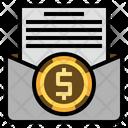 Invoice Letter Statement Icon