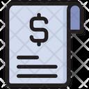 Invoice Bill Bill Receipt Icon