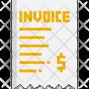 Invoice Commerce Ticket Icon