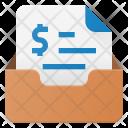 Invoice Inbox Mail Icon