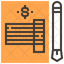 Invoice Tax Pawnshop Icon